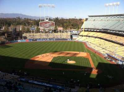 Dodger Stadium, section: 11RS, row: O, seat: 6