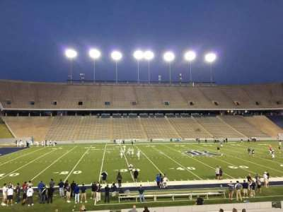 Rice Stadium, section: 104, row: 41, seat: 7