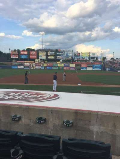 Coca-Cola Park, section: 118, row: E, seat: 1