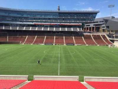 Nippert Stadium, section: 106, row: 32, seat: 12