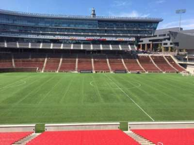 Nippert Stadium, section: 107, row: 32, seat: 11