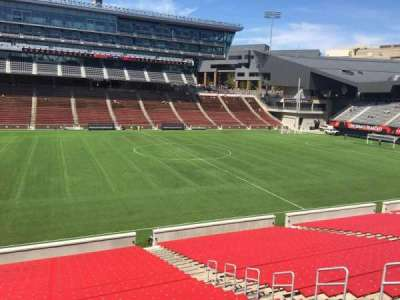 Nippert Stadium, section: 108, row: 32, seat: 11