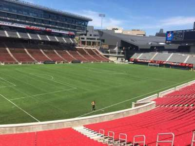 Nippert Stadium, section: 111, row: 32, seat: 11