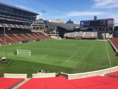 Nippert Stadium, section: 112, row: 32, seat: 35
