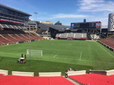 Nippert Stadium, section: 113, row: 33, seat: 11