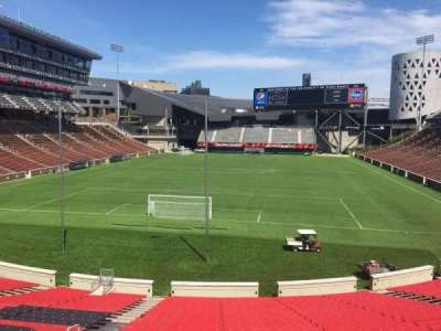 Nippert Stadium, section: 113, row: 32, seat: 35
