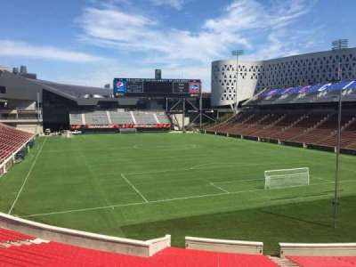 Nippert Stadium, section: 116, row: 32, seat: 12
