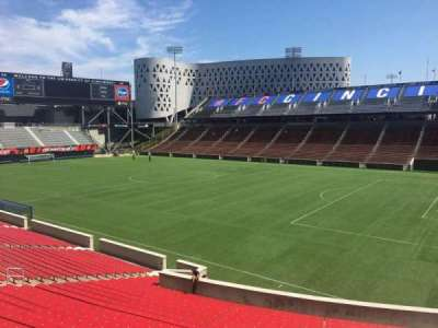 Nippert Stadium, section: 118, row: 32, seat: 12