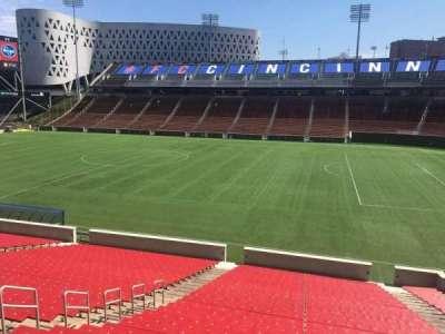 Nippert Stadium, section: 119, row: 32, seat: 12