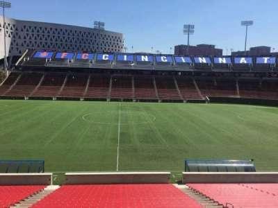 Nippert Stadium, section: 122, row: 32, seat: 11