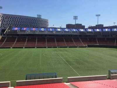 Nippert Stadium, section: 123, row: 32, seat: 11