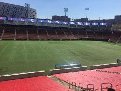 Nippert Stadium, section: 124, row: 32, seat: 11
