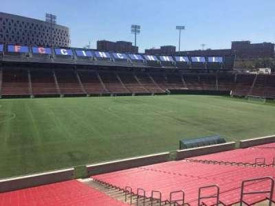 Nippert Stadium, section: 125, row: 32, seat: 11