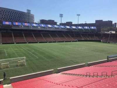 Nippert Stadium, section: 127, row: 32, seat: 1
