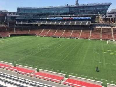 Nippert Stadium, section: 203, row: 7, seat: 1