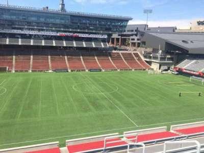 Nippert Stadium, section: 208, row: 8, seat: 1