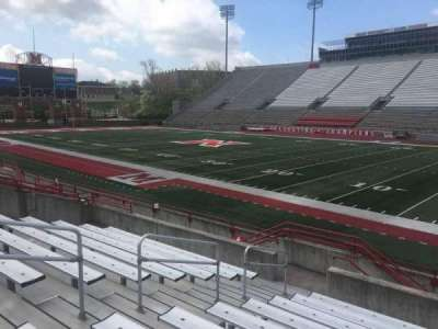 Yager Stadium, section: B, row: 10, seat: 12