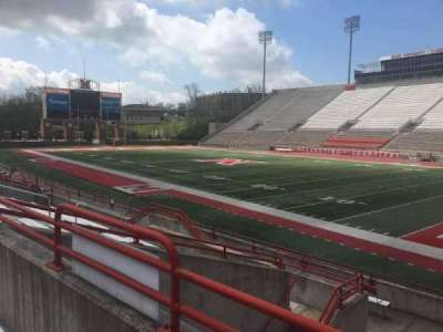 Yager Stadium, section: A, row: 10, seat: 12