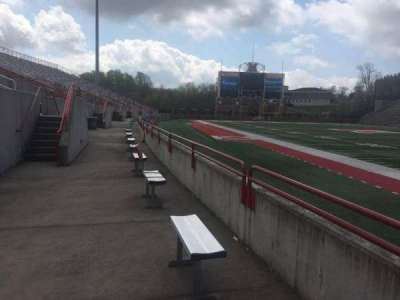 Yager Stadium, section: Standing Room Students