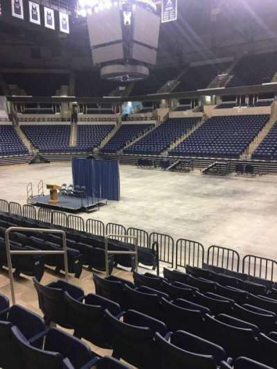 Cintas Center, section: 114, row: N, seat: 7