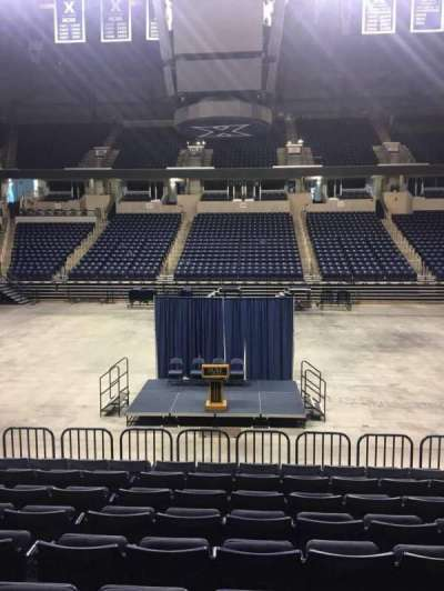Cintas Center, section: 110, row: N, seat: 7