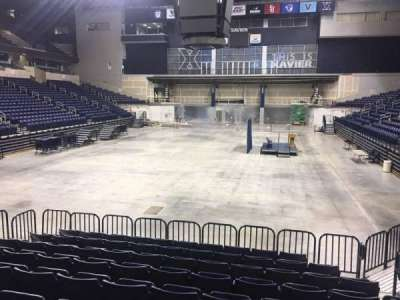 Cintas Center, section: 102, row: N, seat: 7
