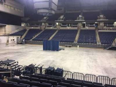 Cintas Center, section: 107, row: N, seat: 6