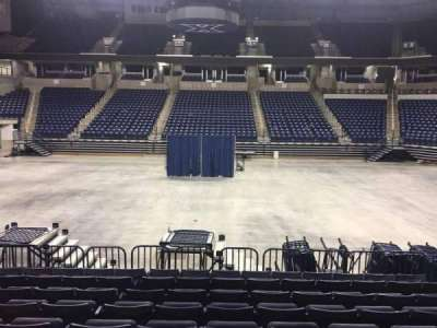 Cintas Center, section: 109, row: N, seat: 6