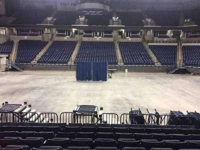 Cintas Center, section: 109, row: N, seat: 6