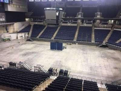 Cintas Center, section: 209, row: B, seat: 7