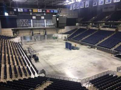 Cintas Center, section: 203, row: B, seat: 7
