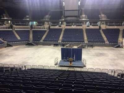 Cintas Center, section: 110, row: V, seat: 5