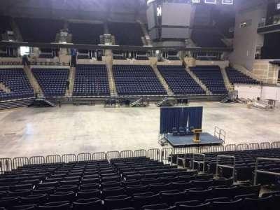 Cintas Center, section: 108, row: V, seat: 5