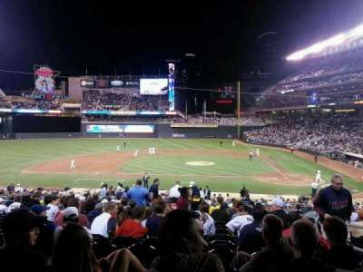 Target Field, section: 119, row: 17, seat: 3