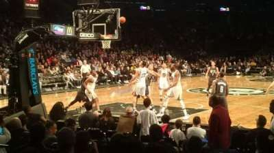 Barclays Center, section: 13, row: 5, seat: 10