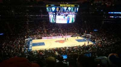 Madison Square Garden, section: 223, row: 6, seat: 8