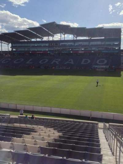 Dick's Sporting Goods Park, section: 103, row: 21, seat: 1