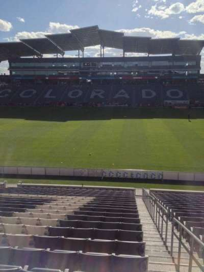 Dick's Sporting Goods Park, section: 105, row: 24, seat: 1