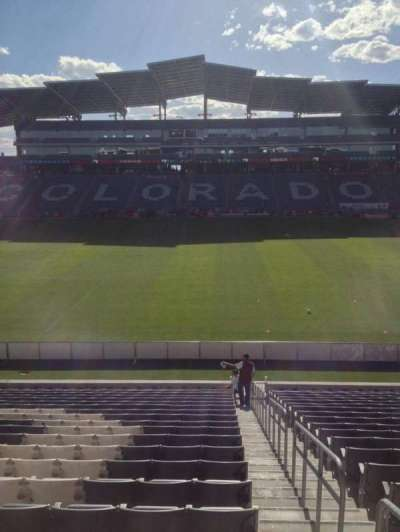 Dick's Sporting Goods Park, section: 106, row: 21, seat: 1