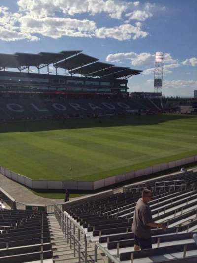 Dick's Sporting Goods Park, section: 113, row: 22, seat: 1