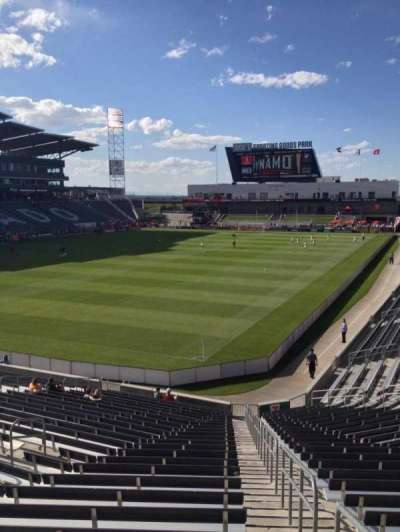 Dick's Sporting Goods Park, section: 114, row: 26, seat: 1