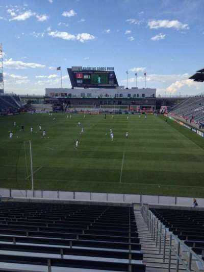 Dick's Sporting Goods Park, section: 116, row: 24, seat: 1