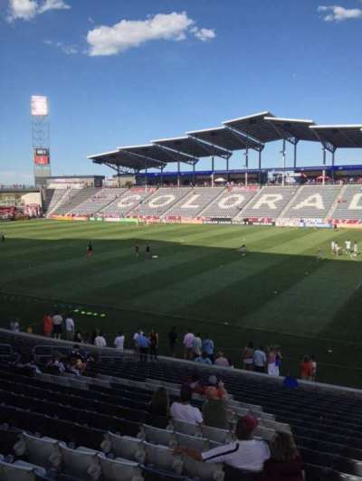 Dick's Sporting Goods Park, section: 125, row: 21, seat: 1