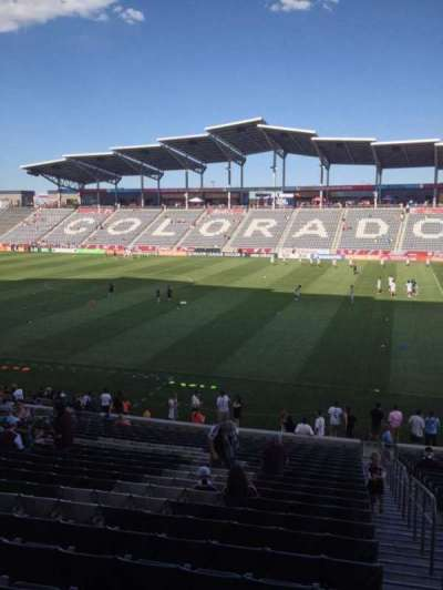 Dick's Sporting Goods Park, section: 126, row: 24, seat: 1