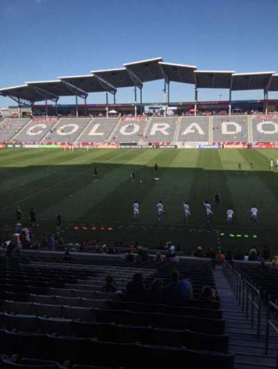 Dick's Sporting Goods Park, section: 127, row: 24, seat: 1
