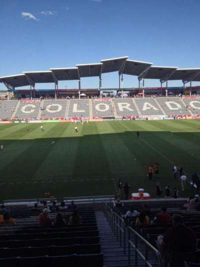Dick's Sporting Goods Park, section: 130, row: 24, seat: 1