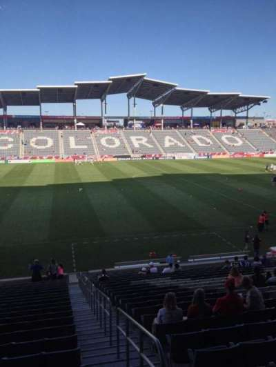 Dick's Sporting Goods Park, section: 131, row: 24, seat: 1