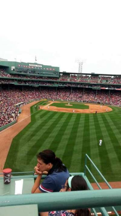 Fenway Park section Bud Light Roof Deck