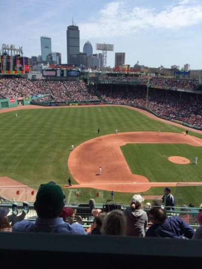 Fenway Park, section: Pavilion box 10, row: E, seat: 5