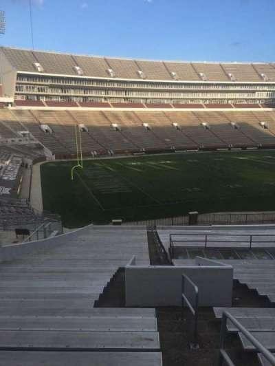 Davis Wade Stadium, section: 07, row: 45, seat: 1